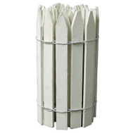 Greenes Fence RC 24W 16 By 12 White Trim Fence