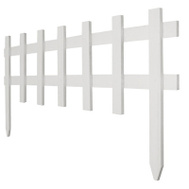 Greenes Fence RC 75W 18 By 3 White Picket Fence