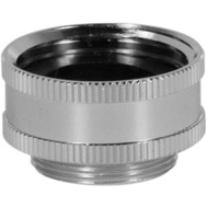 Larsen Supply 09-1461NL 3/4 Inch Female Hose To 55/64 Inch Male Thread Adapter