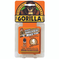 Gorilla Glue 5000503 Glue Gorilla Mini Tube 4 Pack