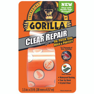 Gorilla Glue 6015002 Tape Repair Crystal Clear 5Yd