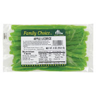 Ruckers Candy 1001 Family Choice Apple Licorice Bag 6 Oz