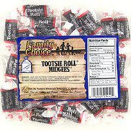 Ruckers Candy 1442 Family Choice Indiv Wrap Tootsie Rolls 6.5 Ounce