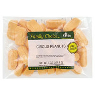Ruckers Candy 1030 Family Choice Circus Peanuts 8 Ounce