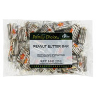 Ruckers Candy 1099 Family Choice Peanut Buter Bar 8 Ounce