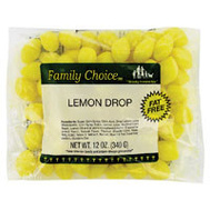Ruckers Candy 1106 Family Choice 12 Ounce Lemon Drop