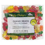 Ruckers Candy 1128 Family Choice 8 Oz Bag Gummy Bears