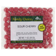 Ruckers Candy 1131 Family Choice 8 Ounce Sour Cherry