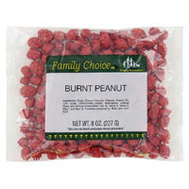 Ruckers Candy 1132 Family Choice French Burnt Peanuts 7 Ounce Bag