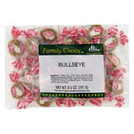 Ruckers Candy 1135 Family Choice Bullseye Indiv Wrap Bag 7 Oz