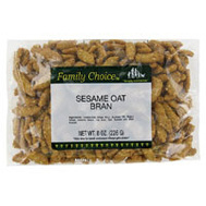 Ruckers Candy 1140 Family Choice Oat Bran Sesame 7 Oz