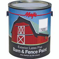 Yenkin Majestic 8-0046-1 Majic Latex Barn And Fence White Gallon