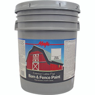 Yenkin Majestic 8-0046-5 Majic Latex Barn And Fence White 5 Gallon
