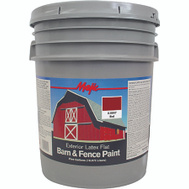 Yenkin Majestic 8-0047-5 Majic Latex Barn And Fence Cl Red 5 Gallon