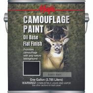Yenkin Majestic 8-0851-1 Majic Paint Camouflage Oil Based Black Gallon