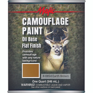 Yenkin Majestic 8-0854-2 Majic Paint Camouflage Earth Brown Quart