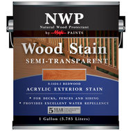 Yenkin Majestic 8-1424-1 Stain Wood Acrylic Semi-Transparent Redwood 1G