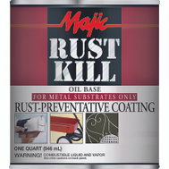 Yenkin Majestic 8-6012-2 Majic Paint Rust Kill Matte White Quart