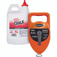 Keson G1303R Giant 130 Foot Chalk Box With 3# Red