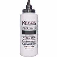 Keson Llc 8BLACK ProChalk 8 Ounce Black