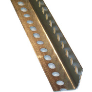 Steelworks Boltmaster 11105 1-1/2 By 24 14 Gauge Slotted Angle