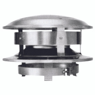Selkirk 208800 Sure Temp Chimney Caps Round Topper 8 Inch Stainless Steel
