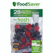 FoodSaver T01-0071-01 28 Count Pint Food Saver Bags