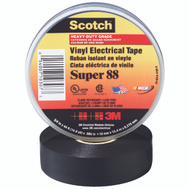 3M 88 Scotch Electrical Tape Cold Weather 3/4 Inch By 66 Foot