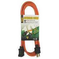 Prime Wire EC501610 Cord Extension Org 16/3Ga 10Ft