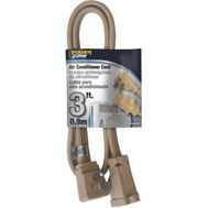 Power Zone OR681503 Air Conditioner Appliance Cord 14/3 Spt-3 Beige 3 Foot