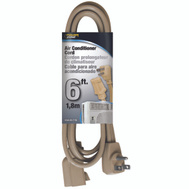 Power Zone OR681506 Air Conditioner Appliance Cord 14/3 Spt-3 Beige 6 Foot