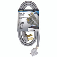 Power Zone ORR628106 Cord Range 50A 6/2-8/1X6ft Gry