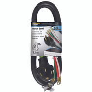 Power Zone ORR628204 Cord Range 50A 6/2-8/1X4ft Blk