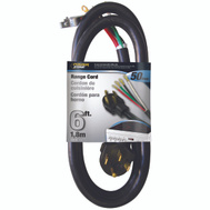 Power Zone ORR628206 Cord Range 50A 6/2-8/1X6ft Blk