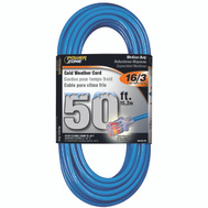 Power Zone ORCW511630 Cord Ext Otdr Rd Cld 16/3X50ft