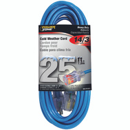 Power Zone ORCW511725 Cord Ext Otdr Rd Cld 14/3X25ft