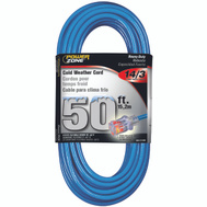 Power Zone ORCW511730 Cord Ext Otdr Rd Cld 14/3X50ft