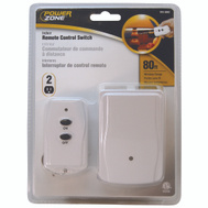 Power Zone TNRC21 2 Outlet Plug In Indoor Remote Control