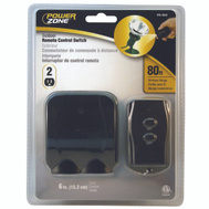 Power Zone TNOREM02 2 Outlet Outdoor Remote Control Switch