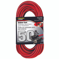Power Zone OR514730/506730 Outdoor Extension Cord 14/3 50 Foot