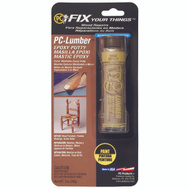 Protective Coating 025574 Epoxy Putty Lumber Light Pine 1 Ounce Pc Lumber