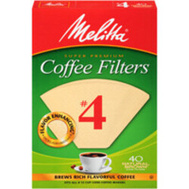 Melitta 63100 Filter Coffee Cone No4 Nb 40Ct (Box Of 40)