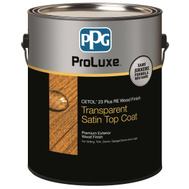 Deft PPG SIK43085/01 Finish Wd Ext Clear Teak 1Gal