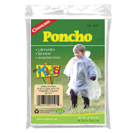 Coghlans 0242 Poncho Plastic Clear 30X40in