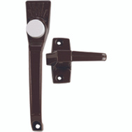 Ideal Security SK910B Classic Door Latch Push Button Brown
