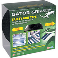 INCOM RE160 Lifesafe Safety Grit Tape 4 Inch By 60 Foot Roll Black