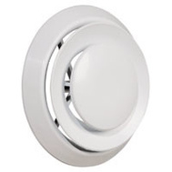 Imperial Manufacturing DR-06 Diffuser Ceiling Round 6In Wht
