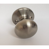 Weiser by Kwikset SK7000AS 15 Safe Lock Athens Half Dummy Knob Pill Satin Nickel