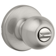 Weiser by Kwikset SK3000RG 15 RCAL RCS Safe Lock Regina Bed And Bath Privacy Lockset Satin Nickel