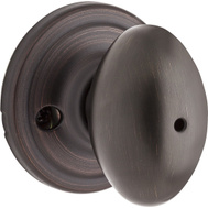 Weiser by Kwikset GA331 L11P MS 4LS1 Laurel Bed And Bath Privacy Lockset Venetian Bronze